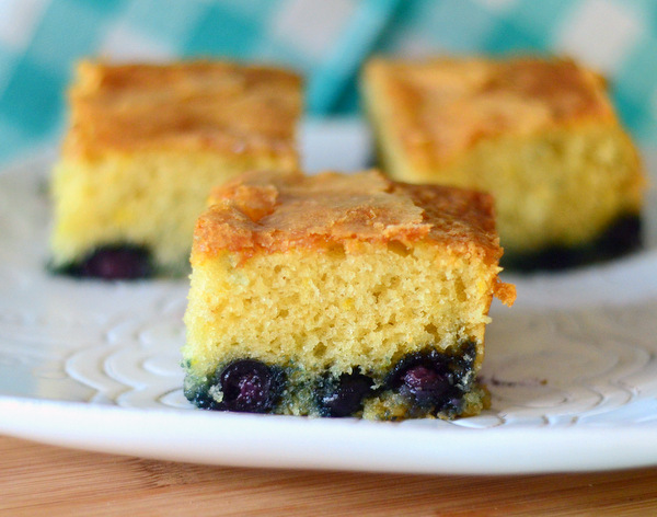 Easy Blueberry Lemon Brunch Cake