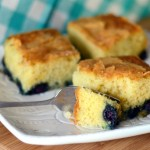 Blueberry Lemon Brunch Cake