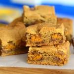 Peanut Butter Butterfinger Chunk Bars