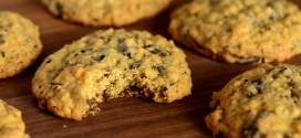 Chocolate Chunk Oatmeal Cookies with Cacao Nibs
