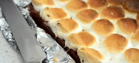 How to Cut Through Toasted Marshmallow