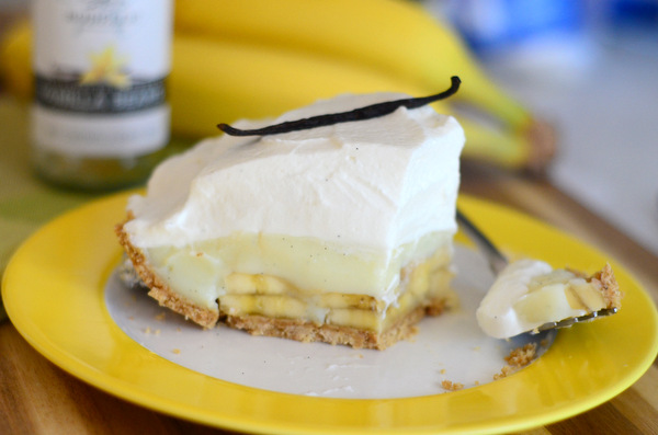 The Ultimate Vanilla Banana Cream Pie