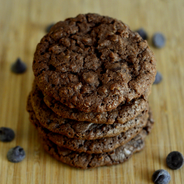 Gluten Free Chocolate Oatmeal Chip Cookies