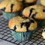 Bakery-Style Buttermilk Blueberry Muffins