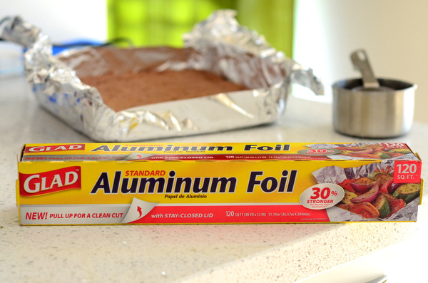 Glad Aluminum Foil in My Kitchen
