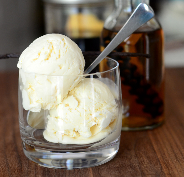 Barrel Aged Vanilla Ice Cream