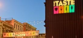 Scenes from LA Times' The Taste, 2015