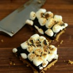Baking Bites' No Bake S'mores Bars