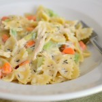 Baking Bites for Craftsy: Chicken Pot Pie Pasta