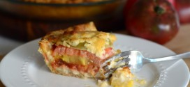 Baking Bites for Craftsy: Rainbow Heirloom Tomato Pie