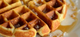 Buttermilk Coconut Waffles