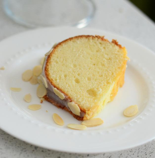 Amaretto Buttermilk Bundt Cake