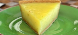 Key Lime Vinegar Pie