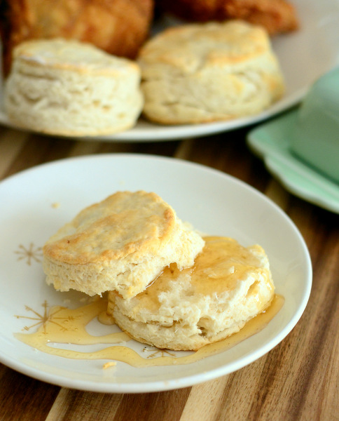 Flaky Self Rising Buttermilk Biscuits