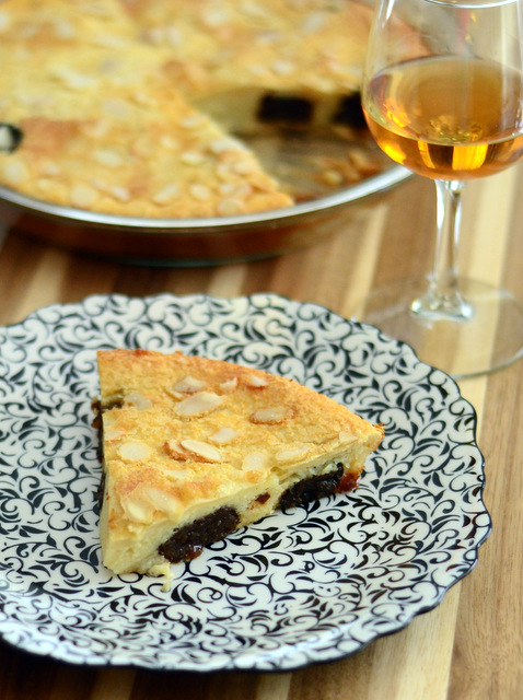 Prune and Cognac Clafoutis