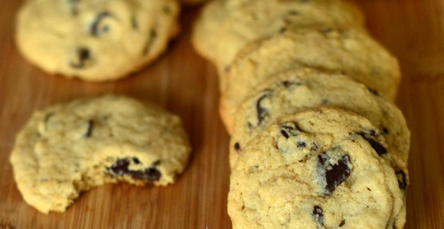 Brown Sugar Bourbon Chocolate Chunk Cookies