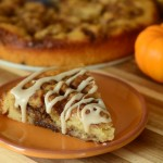 No Knead Pumpkin Spice Cinnamon Bun Bread
