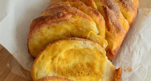 Pumpkin Butter Pull Apart Bread