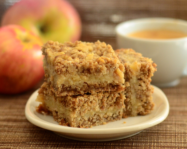 Buttermilk Apple Cobbler Bars