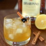 Cinnamon Amaretto Sour