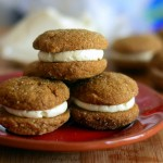 Molasses Bourbon Sandwich Cookies