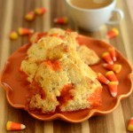 Candy Corn Scones