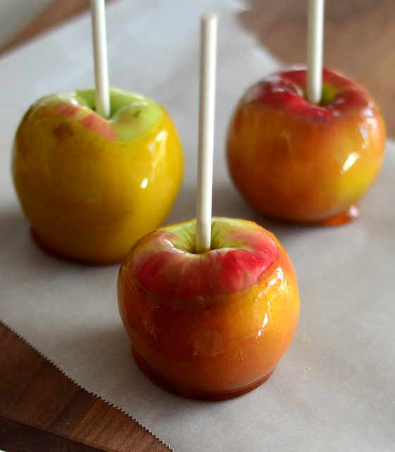 Easy Candied Caramel Apples (without Corn Syrup)