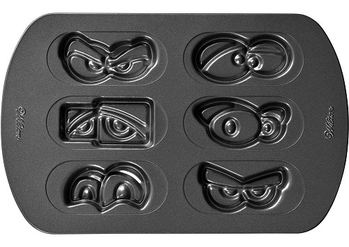 Halloween Eyes Easy Decorate Cookie Pan