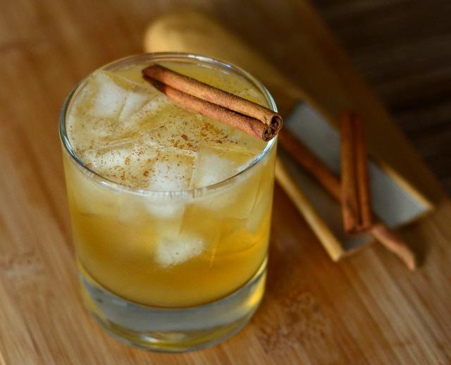 Gourd-geous, A Pumpkin Cider Cocktail