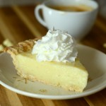 Vanilla Bean White Chocolate Cream Pie