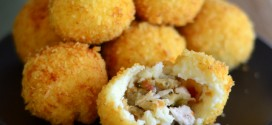 Turkey and Stuffing Potato Balls