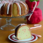 Vanilla Bean Peppermint Bundt Cake