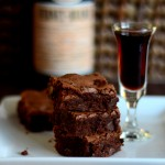 Chocolate Mint Brownies with Frenet Branca