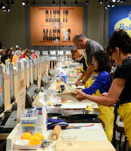 Bakers and Makers at the 47th Pillsbury Bake-Off in Nashville