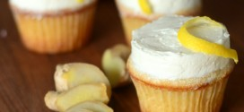Double Ginger Cupcakes with Lemon Buttercream