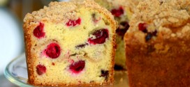 Cranberry Streusel Coffee Cake