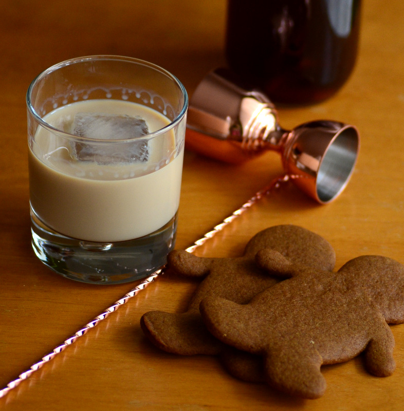Gingerbread Season Cocktail