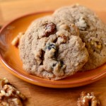 Whole Grain Cherry Walnut Cookies