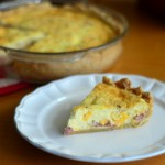 Baking Bites for Craftsy: Ham & Cheese Quiche