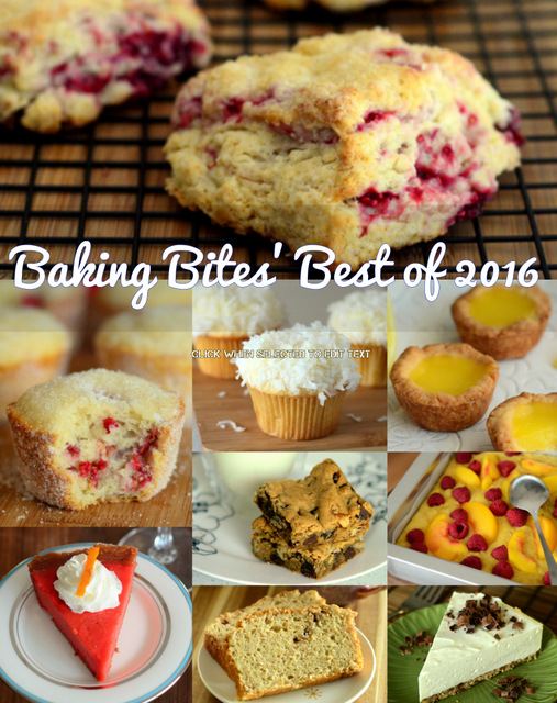 Baking Bites' Top 10 Recipes of 2016