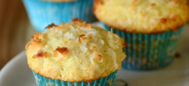 One Bowl Coconut Muffins