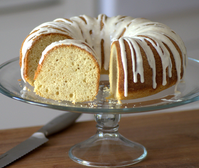 Brown Butter Buttermilk Bundt Cake