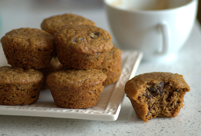 Espresso Chip Mini Muffins