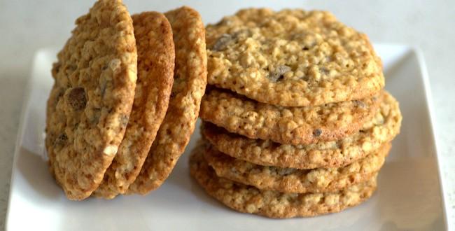 Big Banana Oatmeal Chocolate Chip Cookies