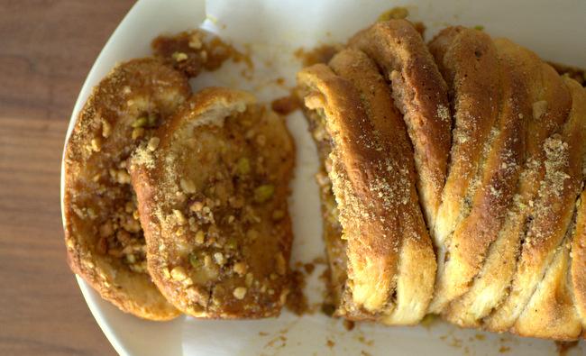 Baklava Pull Apart Bread