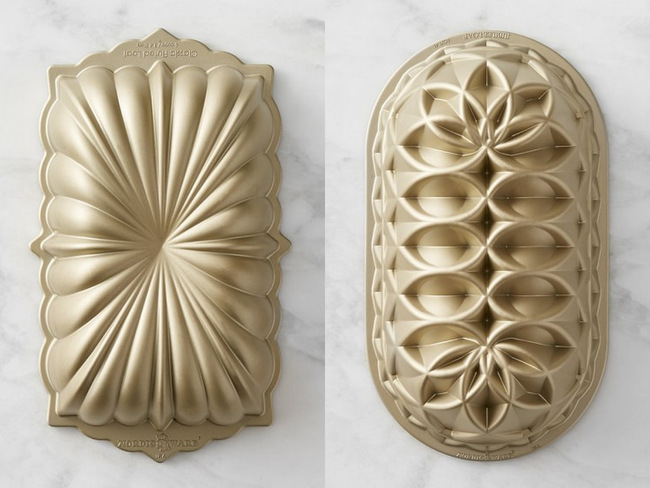 Nordic Ware Anniversary And Juibilee Loaf Pans Baking Bites