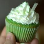 Shamrock Shake Cupcake