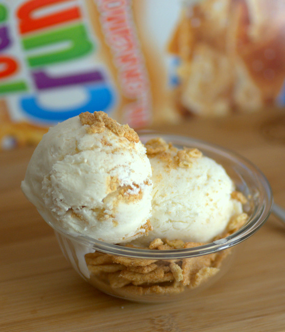 Cinnamon Toast Crunch Cereal Milk Ice Cream