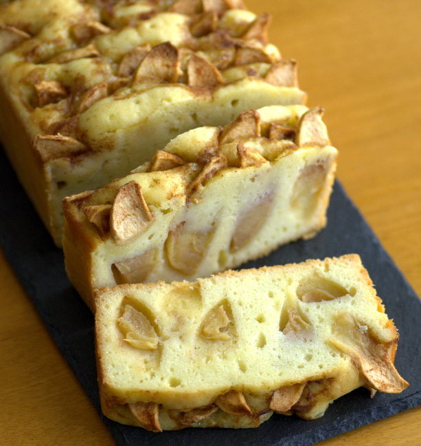 Dutch Apple Loaf Cake