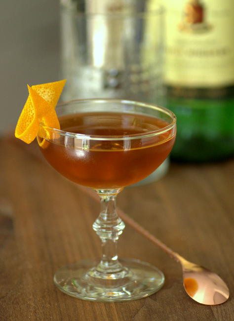 Emerald, an Irish whiskey cocktail